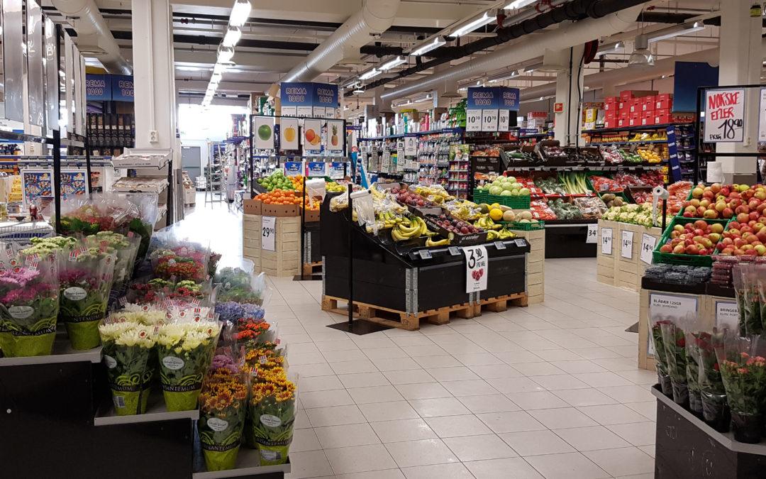 Local supermarket – REMA 1000