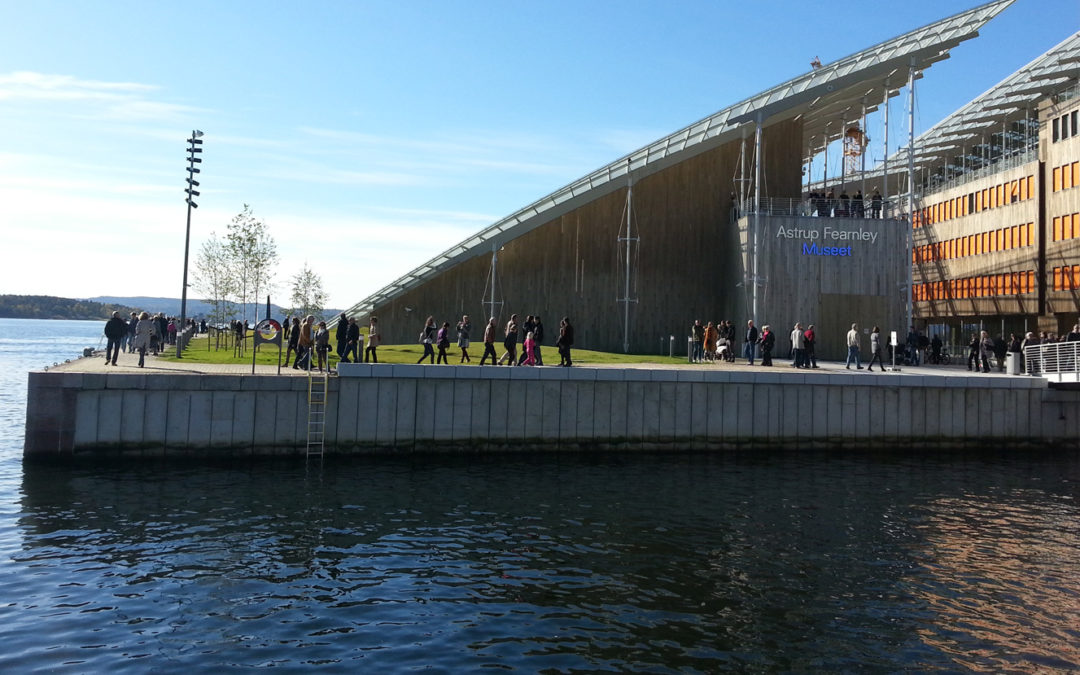 Astrup Fearnley Museum at Tjuvholmen
