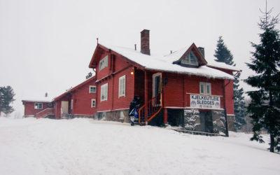 Korketrekkeren – Oslo Corkscrew sleigh track