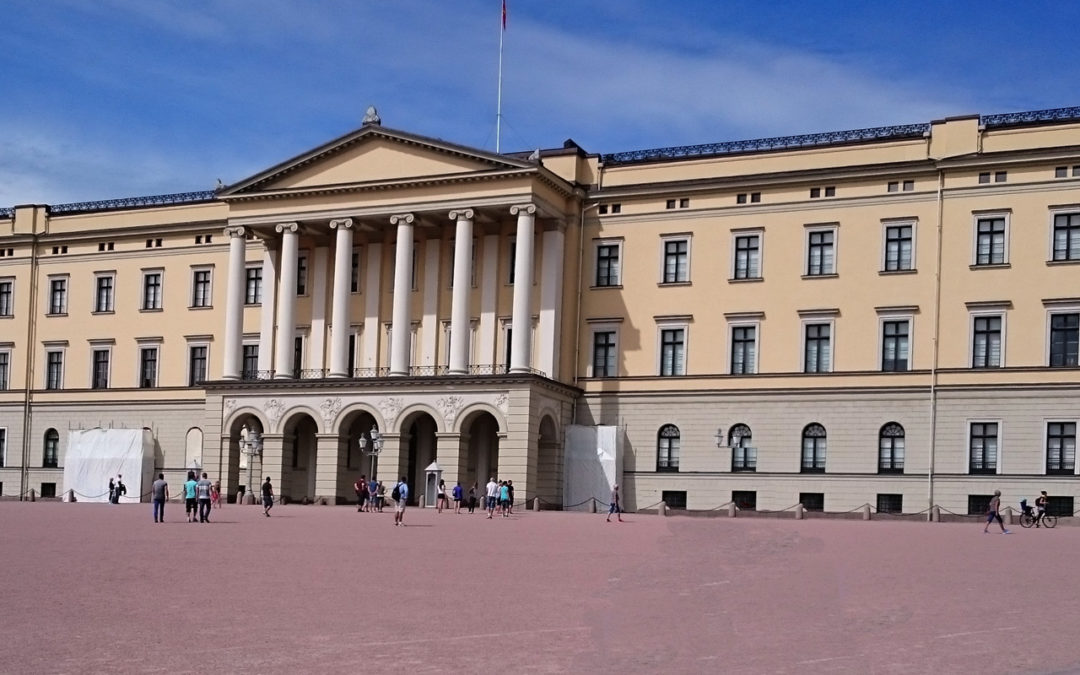 The Royal Palace in Oslo and Oscarshall at Bygdøy
