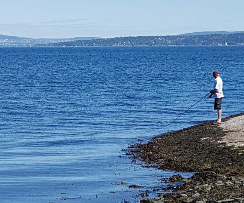 Fishing in salt water / Fishing in freshwater
