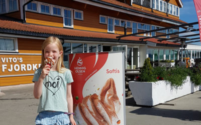Ice-cream in Vollen