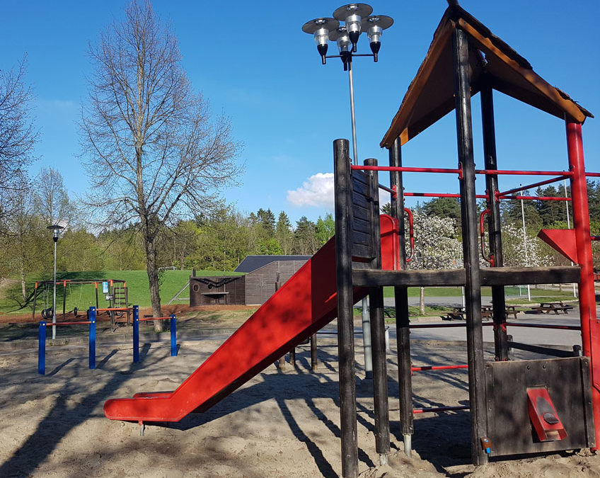 Children's playgrounds and training apparatus for all ages